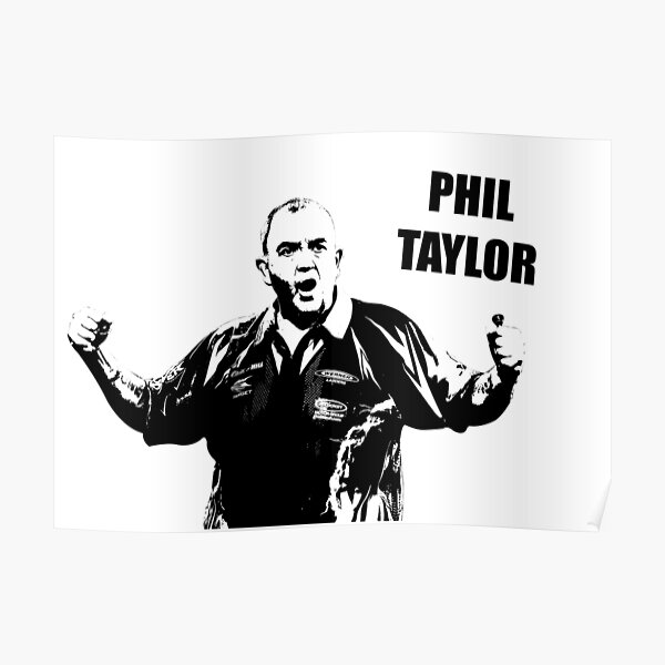 Phil Taylor - The Power Poster