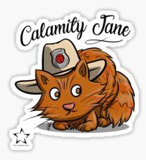 Purgatory's Feline-est Deputy Sticker