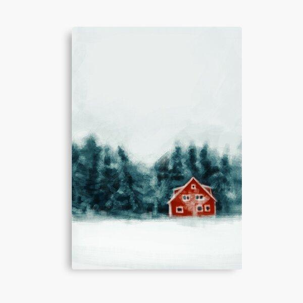 Christmas Winter Canvas Print