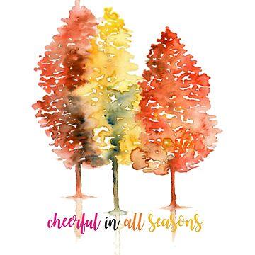 Cheerful in all seasons T-Shirt by alvarenga