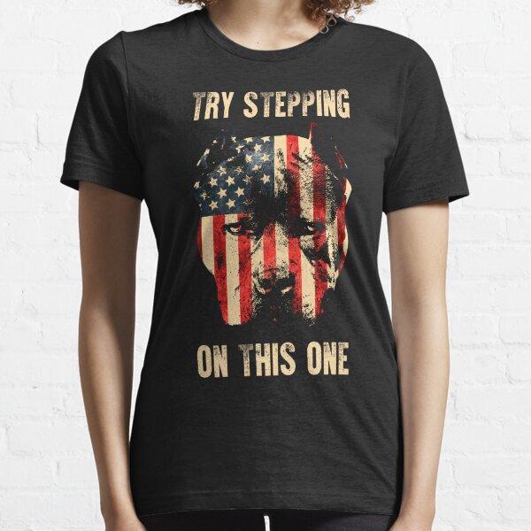 Patriotic Pitbull Essential T-Shirt