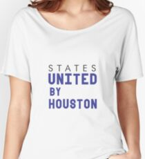 States United By Houston Women's Relaxed Fit T-Shirt