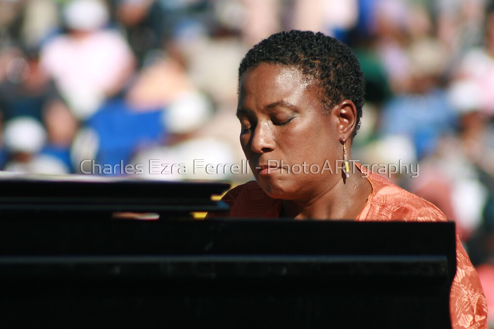 Geri Allen - On Stage by Charles Ezra Ferrell - PhotoARTgraphy