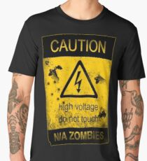Caution Men's Premium T-Shirt
