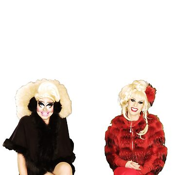 UNHhhh Trixie and Katya by fatherbananas