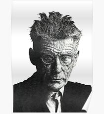Samuel Beckett - Irish Author Poster