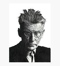 Samuel Beckett - Irish Author Photographic Print