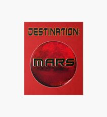 Destination: Mars Art Board