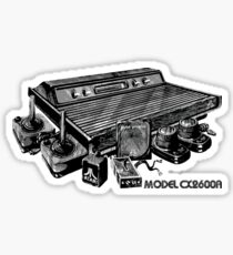 Atari CX2600A Sticker
