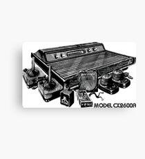 Atari CX2600A Canvas Print