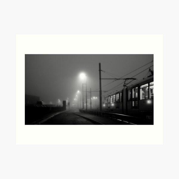 Fog at Deansgate Art Print