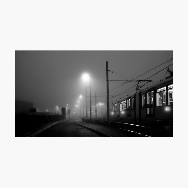 Fog at Deansgate Photographic Print