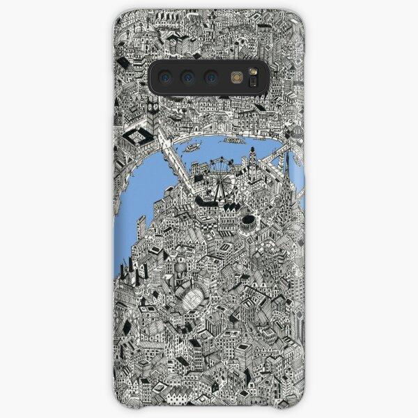 London Map print Drawing Samsung Galaxy Snap Case