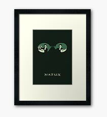 Matrix Framed Print