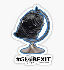 #GLOBETRASH Sticker