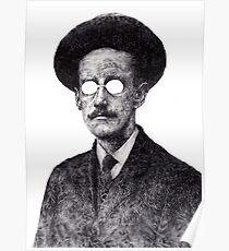 James Joyce - Irish Author Poster