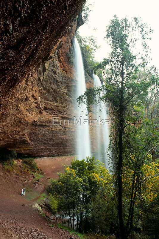 Quot Paradise Falls Victoria Quot By Ern Mainka Redbubble