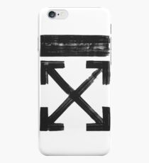 Off white Brushed arrows iPhone 6s Case
