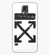Off white Brushed arrows Case/Skin for Samsung Galaxy