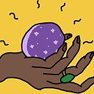 crystal ball hand by geecomics