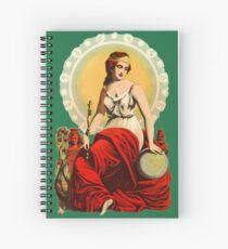 Goddess Juno Spiral Notebook