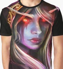 """The Dark Lady"" Fanart of Warcraft Graphic T-Shirt"