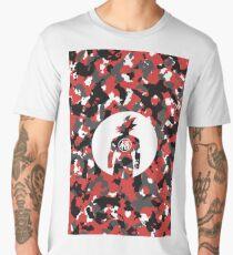 GOKU RED CAMO Men's Premium T-Shirt