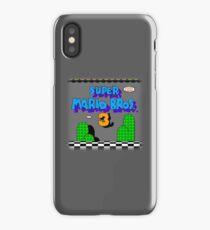 MARIO WORLD 3 iPhone Case