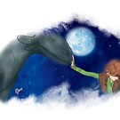 Hiccup & Toothless - How to train your dragon FANART 02 by liajung