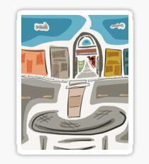 Fort Langley ~ By Ernie Kasper Sticker