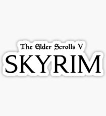 The Elders Scrolls V Skyrim Sticker