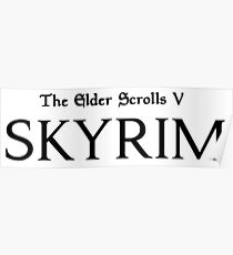 The Elders Scrolls V Skyrim Poster