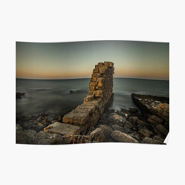 Puglia Ruine Poster