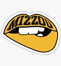 Mizzou Varsity Lips Sticker