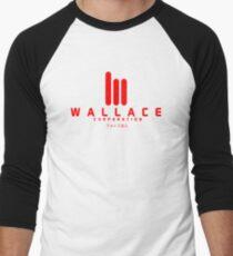 Blade Runner 2049 ウォレス法人 Wallace Corp.  Red Men's Baseball ¾ T-Shirt