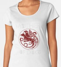 Mother of Dogs Women's Premium T-Shirt