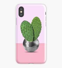 Cactus disco party iPhone Case/Skin