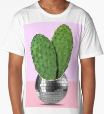Cactus disco party Long T-Shirt