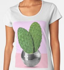 Cactus disco party Women's Premium T-Shirt