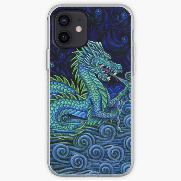 Chinese Azure Dragon iPhone Soft Case