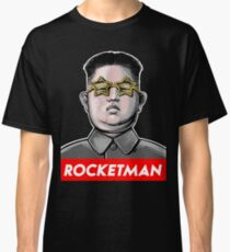 Rocket man Kim Jong-Un Donald Trump RocketMan T Shirt Classic T-Shirt
