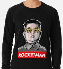 Raketenmann Kim Jong-Un Donald Trump RocketMan-T-Shirt Leichter Pullover