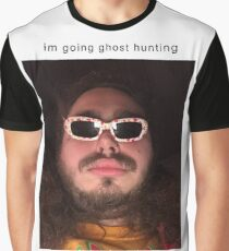 Post Malone going ghost hunting Graphic T-Shirt