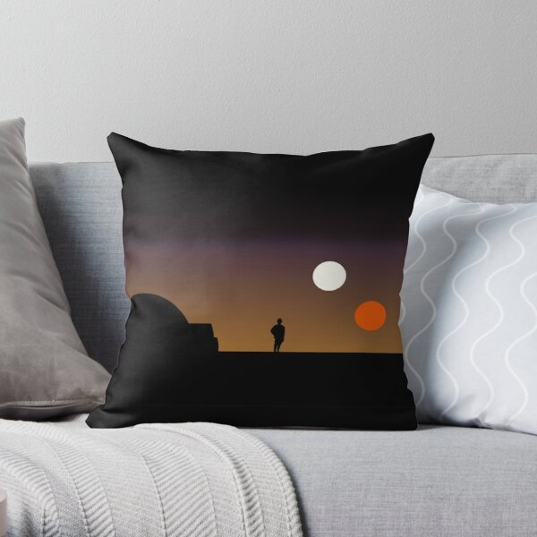 The Double Sunset... Throw Pillow