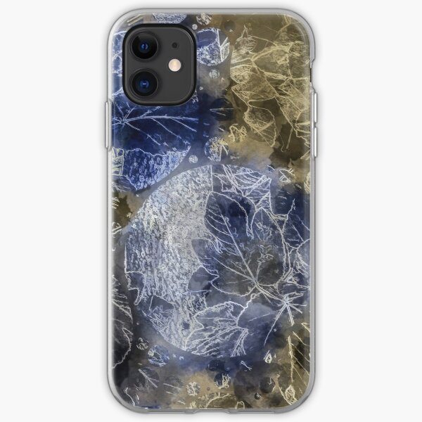 Frosted Leaves iPhone Soft Case