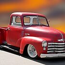 1950 Chevrolet 3100 Custom Pickup 'Fly'n Show Low' I by DaveKoontz