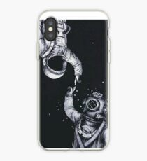 Astronaut and Diver iPhone Case