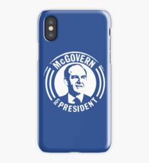 GEORGE McGOVERN FOR PRESIDENT iPhone Case/Skin
