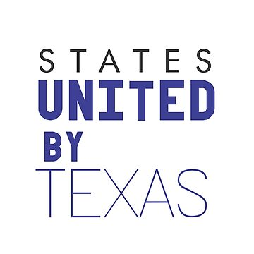 States United by Texas by alvarenga
