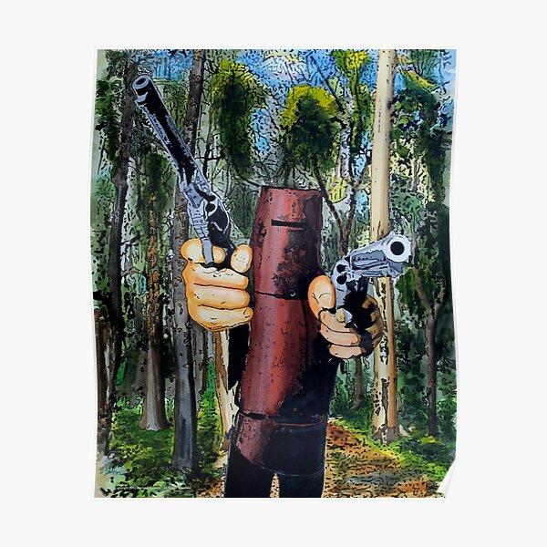 Ned Kelly - Ned in bush Poster